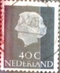 Stamps Netherlands -  Intercambio 0,20 usd 40 cents. 1953