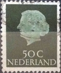 Stamps Netherlands -  Intercambio 0,20 usd 50 cents. 1953