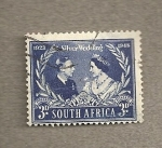 Stamps Africa - South Africa -  Bodas plata reyes