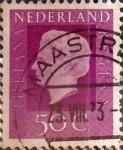 Sellos de Europa - Holanda -  Intercambio 0,20 usd 50 cents. 1972