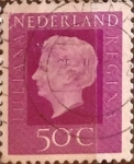 Stamps : Europe : Netherlands :  Intercambio 0,20 usd 50 cents. 1972