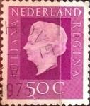 Sellos del Mundo : Europa : Holanda : Intercambio 0,20 usd 50 cents. 1972