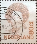 Stamps : Europe : Netherlands :  Intercambio 0,20 usd 80 cents. 1991