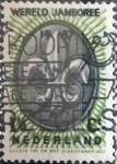 sello : Europa : Holanda : Intercambio 0,20 usd 1,5 cents. 1937