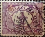 Stamps Netherlands -  Intercambio 0,20 usd 0,5 cents. 1898
