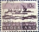 Sellos de Europa - Holanda -  Intercambio 0,20 usd 10 cents. 1963