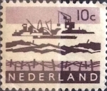 Sellos del Mundo : Europa : Holanda : Intercambio 0,20 usd 10 cents. 1963