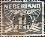 Sellos del Mundo : Europa : Holanda : Intercambio 0,20 usd 1,5 cents. 1935