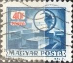 Sellos de Europa - Hungría -  Intercambio 0,20 usd 40 f. 1973
