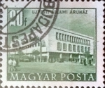 Sellos de Europa - Hungría -  Intercambio 0,20 usd 20 f.  1953