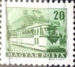 Stamps : Europe : Hungary :  Intercambio 0,20 usd 20 f.  1963
