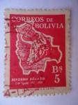 Stamps Bolivia -  Reforma Agraria. 1853-1953