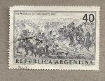 Stamps Argentina -  Batalla de Chabuco