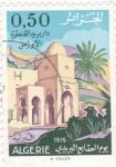Stamps Algeria -  edificio