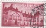 Stamps Spain -  edificio