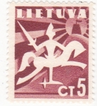 Stamps Lithuania -  emblema