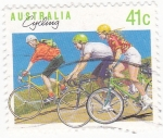 Stamps Australia -  cicling