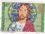 Stamps : Europe : United_Kingdom :  Jesucristo