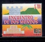 Sellos de America - México -  Encuentro de Dos Mundos
