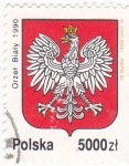 Sellos de Europa - Polonia -  escudo