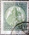 Sellos del Mundo : Europa : Hungría : Intercambio 0,35 usd 5000 korona 1921