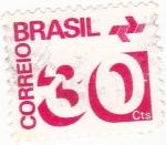 Stamps Brazil -  cifras