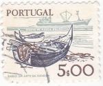 Stamps Portugal -  barco da arte xavega