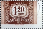Stamps Hungary -  Intercambio 0,20 usd 1,20 ft.1958
