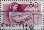 Stamps Hungary -  Intercambio 0,20 usd 80 f. 1955