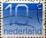 Sellos de Europa - Holanda -  Intercambio 0,20 usd 10 cents. 1976