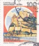 Stamps : Europe : Italy :  castelo aragonese iscila
