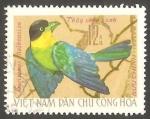 Stamps : Asia : Vietnam :   Pájaro rsarisomus dalhouslae