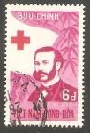 Stamps Vietnam -  141 - Día mundial de la Cruz Roja, Henri Dunant