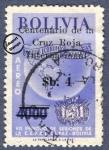 Sellos de America - Bolivia -  Centenario de la Cruz Roja Internacional