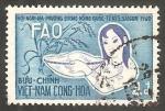 Stamps : Asia : Vietnam :  152 - Conferencia de la Organización para la alimentación y la agricultura de Naciones Unidas