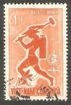 Stamps : Asia : Vietnam :  189 - Erradicación del paludismo