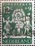 Sellos de Europa - Holanda -  Intercambio 0,20 usd 12 + 9 cents. 1961