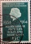 sello : Europa : Holanda : Intercambio 0,20 usd 15 cents. 1964
