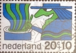 Sellos de Europa - Holanda -  Intercambio cxrf2 0,20 usd 20+10 cents. 1968