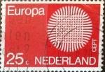 Sellos de Europa - Holanda -  Intercambio cxrf2 0,20 usd 25 cents. 1970