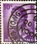 Sellos del Mundo : Asia : Hong_Kong : Intercambio 0,20 usd 10 cents. 1962