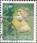 Sellos del Mundo : Asia : Hong_Kong : Intercambio 0,80 usd 1,90 dolares 1992