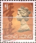 Sellos del Mundo : Asia : Hong_Kong : Intercambio 0,20 usd 1 dólar 1992