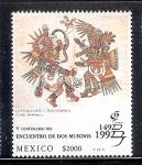 Sellos de America - México -  V Centenario del Encuentro de Dos Mundos