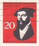 Sellos de Europa - Alemania -  J.Calvin