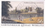 Stamps Germany -  parque