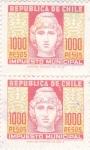 Sellos de America - Chile -  impuesto municipal