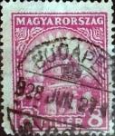 Sellos del Mundo : Europa : Hungría : Intercambio 0,20 usd 8 filler 1926