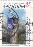 Sellos de Europa - Andorra -  arxiu patrimoni cultural d´Andorra