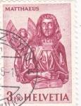 Stamps Switzerland -  Matthaeus
